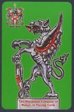 Playing Cards 1 Single Swap Card - 2010 WORSHIPFUL Co. City of London DRAGON 1