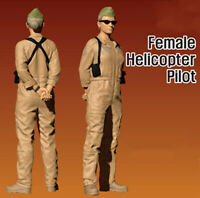 1/35 Resin USMC Female Helicopter Pilot unpainted unassembled 3811