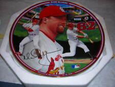 Baseball Record Breaker Mark McGwire Bradford Ex Collector Plate NIB with COA