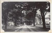 Michigan MI Real Photo RPPC Postcard c1940s JONESVILLE Homes Residence Street