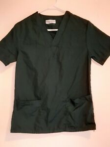 Natural Uniforms Womens Green Scrub Top Size XS/S