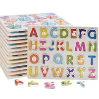 Wooden Educational Toy Puzzle Hand Grabbing Board For Children Cognitive New QL