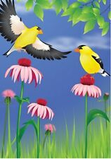 "Glorious Goldfinches Brilliance House Size (28"" x 40"" Approx) Flag.8. Pr 52781"