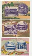 Japon chionon Temple Kyoto,cartes (Ensemble de 6)+ Enveloppe & commémoration CDs