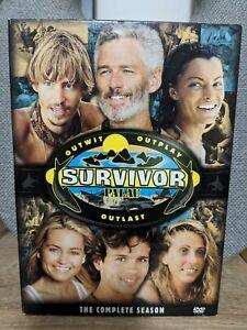Survivor: Palau (Season 10) - DVD Box Set - 4 Disc (Region 1) RARE OOP