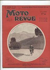 Moto Revue N°687  ; 9 mai  1936 : TERROT moteur 500 cmc bicylindre arbre à came