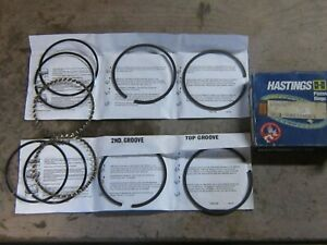 Hastings 2C592010 6-Cylinder Piston Ring Set