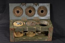 3X FELT KIT FOR WW2 GERMAN BOUNCING BETTY MINE WOOD BOX CASE CONTAINER 3 S.Mi.35