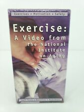 Exercise: A Video from the National Institute on Aging VHS Tape Ages 50 Plus