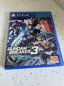 Gundam Breaker 3 Sony Playstation 4 PS4 ENGLISH Subtitles Version