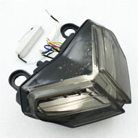 Smoke LED Tail Brake Turn Signal Light For Ducati 848 08-14 1098/1198 2007-2013