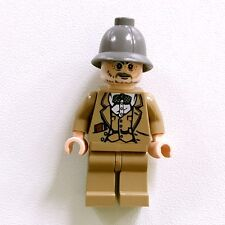 Genuine Lego Indiana Jones Professor Henry Jones Sr. Minifigure from Set 7620