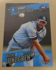 2013/14 WAYNE LUNDGREN Aussie Baseball League - Sydney Blue Sox