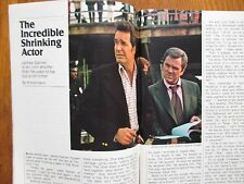 1975 TV  Guide  (JAMES  GARNER/THE ROCKFORD  FILES/ROBBY  BENSON/KHIGH  DHIEGH)