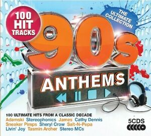 The Ultimate Collection-  90s Anthems BRAND NEW 5CD