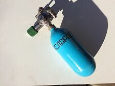 Russian rebreather IDA-71. Oxygen cylinder with regulator. Not used.