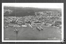Larvik rppc Harstad Vestfold Norway Norge stamp 1940