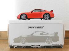 1:18 Porsche 911 991 GT3 2017, lava-orange, von Minichamps, top Zustand in OVP!