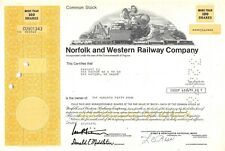 Norfolk and Western Railway Compagny Certificate 1976 (901343)