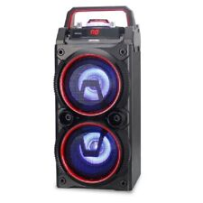 "MAX POWER MPD44L Dual 4"" Dj Speaker Rechargeable Blue Tooth Usb & Sd Card"