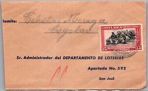 GP GOLDPATH: COSTA RICA COVER 1948 _CV563_P16