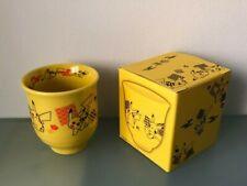Pokemon Center Japan Yellow Pikachu Tea Porcelain Porzellan Cup Tasse Mug 8cm