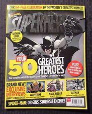 Comic Heroes Presents Superheroes Magazine #1 Fvf 7.0 Batman Wolverine Uk