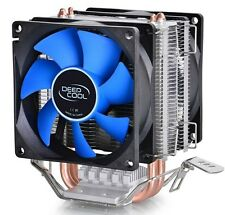 DEEPCOOL CPU Cooler, 2 Heatpipes PWM Fan for Intel i7 i5 i3 Cooler AMD