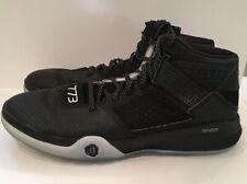 15c03d705d82 Adidas 773 Derek Rose Black D69492 Basketball Hightop Shoes Mens Size 14