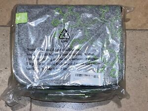 Tegu Travel Tote Felt Carrying Case Bag Gray BRAND NEW WITH TAGS