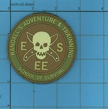 PVC ESEE RANDALLS ADVENTURE AND TRAINING SCHOOL OF SURVIVAL RAT PATCH RATPATCH