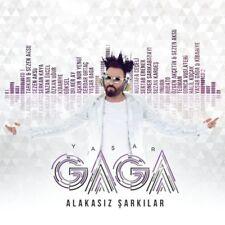 """YASAR GAGA-Alakasiz Sarkilar""""Sezen Aksu,Tarkan,Nazan Öncel,Özkan Ugur.. 2017 CD"""