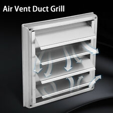 Stainless Steel Square Air Vent Duct Grill Tumble Dryer Extractor Vent Outlet WT
