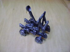 Catapult Miniature Cast Iron Heavy Duty Miniature Medieval Catapult