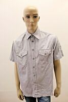 Camicia CALVIN KLEIN Uomo Chemise Shirt Man Taglia Size S