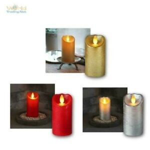 """Candles From Real Wax """" Moving LED Flame """", Wax Candle, Flameless Flickering"""