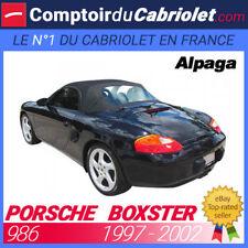 Capote Porsche Boxster type 986 cabriolet en - Alpaga Sonnenland