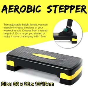 Aerobic Stepper in Fitness & Exercise with 2 Adjustable Step Levels