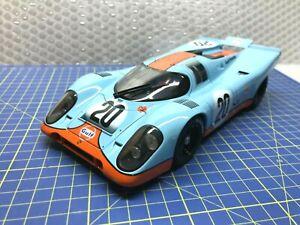 1/18 - AUTO ART - PORSCHE 917 K #20 LE MANS - STEVE McQUEEN - MINT CONDITION