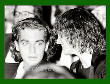 FOTOGRAFIA PHOTO 1989 DALILA DI LAZZARO CON ACCOMPAGNATORE INCONTRI DEL CINEMA