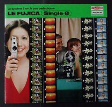 Catalogue FUJICA single 8 8mm caméra cinéma catalog Katalog