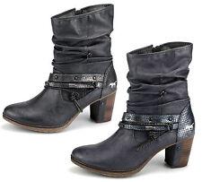 Mustang Damen Stiefeletten Damenschuhe Freizeitschuhe Stiefel Neu 1199506