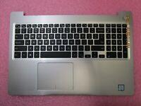 Dell Inspiron 15 5570 5575 Palmrest NON-BACKLIT Keyboard Touchpad CHQ17 MR2KH