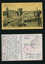 DANZIG 1941 OCCUPIED THIRD REICH CENSOR FPO on POSTCARD