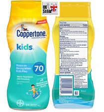 0df276beb Coppertone Kids Sunscreen Tear Free Lotion SPF70 water resistance 8oz