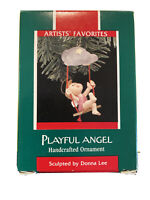 Hallmark Artist's Favorites Playful Angel 1989 - NOS - Rare