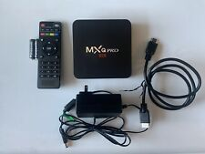 MXQ Pro 4K OTT TV BOX INTERNET TV Multimedia Gateway, Quad Core