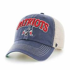 a68caba5a6406 New England Patriots  47 Brand Retro Tuscaloosa Clean Up Adjustable Hat-  Navy