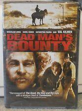 Dead Man's Bounty (DVD, 2008) RARE VAL KILMER WESTERN BRAND NEW