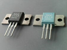 1 pair complementary NEC/TOS 2SD588 2SB618 TO-3P NPN/PNP 150V 7A Transistors NOS